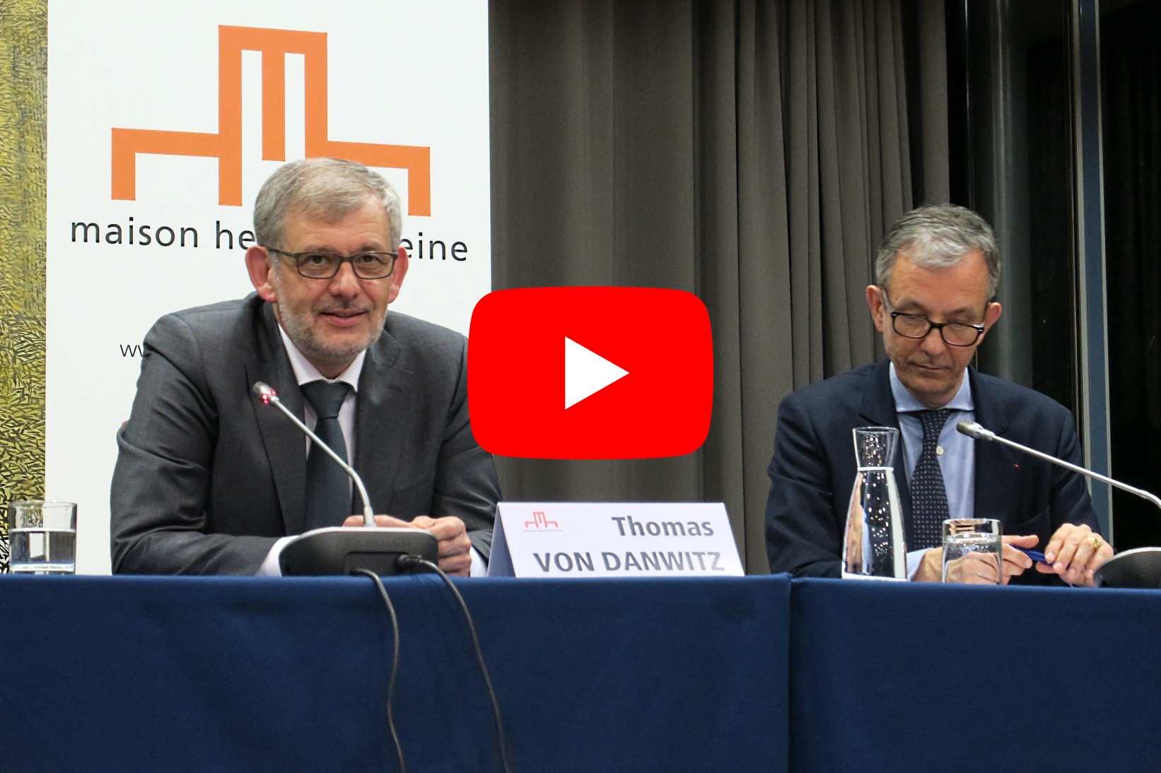 Thomas von Danwitz : regards d'un juge sur l'Europe - Thomas von Danwitz, David Capitant