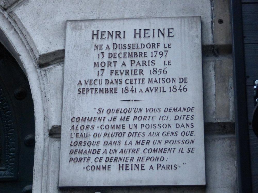 exquisite design sale first look Itinéraires poétiques de Heinrich Heine - Maison Heinrich Heine